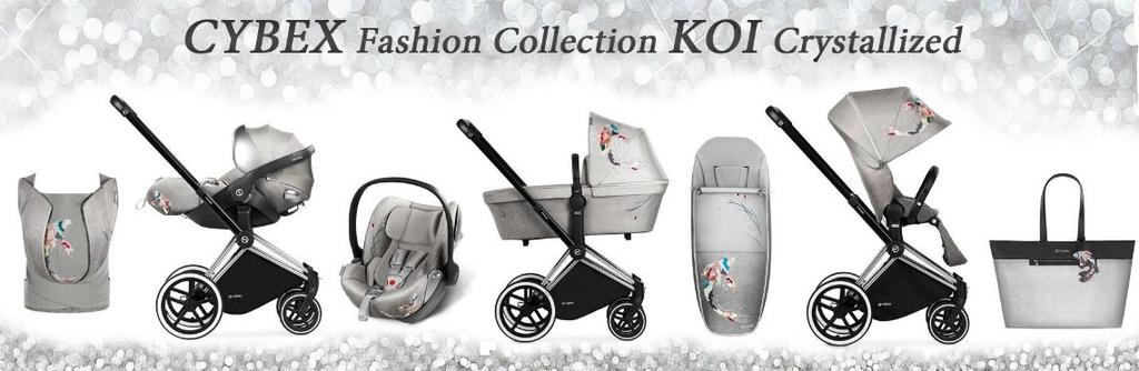 CYBEX - Priam KOI 2018 - PRIAM 3 V 1 cestovní systém fashion kolekce KOI