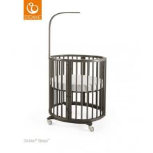 STOKKE Postýlka Sleepi Mini Hazy Grey