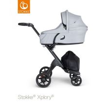 Stokke Xplory V6 Carry Cot Grey Melange 2018