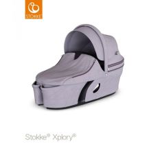 Stokke Xplory V6 Carry Cot Brushed Lilac 2018